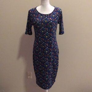LulaRoe Julia Dress. Women's Size M